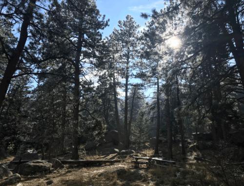 Trip Log: Flatirons Loop Trail – CO – January 2018